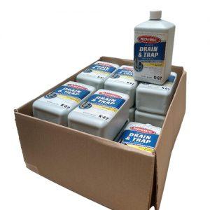 Roebic K67 Bacterial Drain Cleaner and Unblocker Multipack