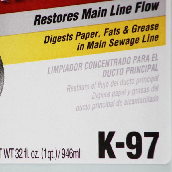 Roebic K97 Main Line Bacterial Cleaner