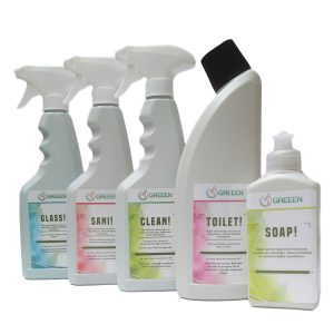 Eco-Friendly Cleaning Products Septic Safe GREEEN TOTAL!