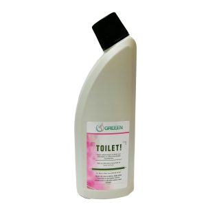 Organic Toilet Cleaner without Chlorine GREEEN TOILET!